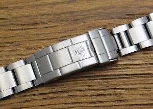 Genuine Rolex Submariner 14060 16610 168000 Bracelet 93150 Clasp 501B end links
