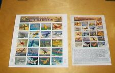United States Sheet Thematic Postal Stamps