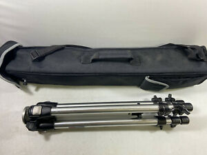 Bogen Manfrotto 3001N Tripod - No Head Excellent Condition w/ Carrying Case