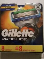 Gillette ProGlide Men's Razor Blades, 8 Blade Refills Free Fast Shipping