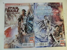 2 X Star Wars: SHATTERED EMPIRE USA-N. 2 + 3-MARVEL-ad 0-1
