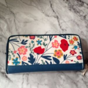 Brakeburn Botanical Zipped purse Brand new with tags