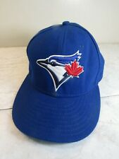New Era Toronto Blue Jays Official On-Field Blue Logo Baseball Cap Hat 7 1/8