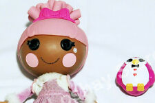 """Lalaloopsy Swirly Figure 8 Eight Ice Skating 12"""" Doll Pet Penguin Clothes Skates"""