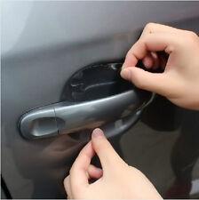 NiX 015 Car Accessories 4PCS Car Stickers Car Door Handle Scratch Protector Film