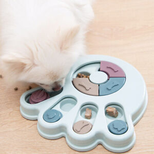 Dog Puzzle Toys Treat Dispenser Slow Feeder For Cats Dogs Interactive Feeding
