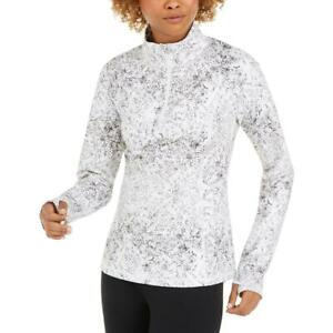 Ideology Womens Fitness Running Workout Sweatshirt Athletic BHFO 7378