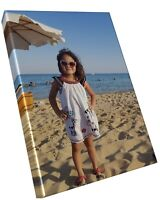 Personalised Canvas Printing - Photo Picture Image Printed A4