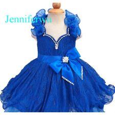 Infant/toddler/kids/baby/children Girl's Glitz Pageant Dress 1-6T G211B