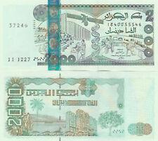 Algeria 2000 Dinars 2011 UNC P. 144, Banknote and Uncirculated