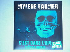 Mylene Farmer cd Promo C'Est Dans L'Air Tiësto Remix avec erreur