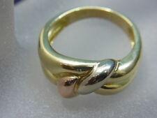 750er Gelbgoldring  Ringgroße 58,5 Ringkopf breit 9,52mm Gewicht 7,21 gramm