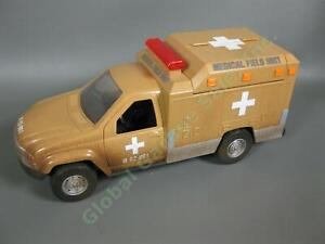 COMPLETE Lanard The Corps Mission Vehicle Medical Field Unit Ambulance Truck NR