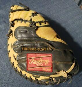 "Rawlings Gold Glove Series GGPCM 33"" Baseball Catchers Mitt Pro Design RHT Youth"