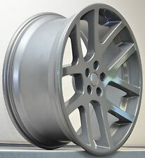 "(4) 22"" Staggered Grey Viper Wheels Challenger Charger Magnum 300 2005 up"