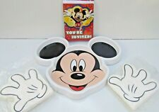 Disney Mickey Mouse Food Tray, Napkins and Invitations