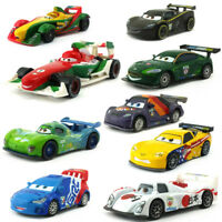 Disney Pixar Cars 2 Racers U.K - U.S.A Toy Car Metal 1:55 Diecast Loose