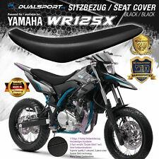 YAMAHA WR125X SITZBEZUG Seat Cover passend für WR 125 X / R  BLACK