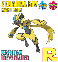6IV EVENT ZERAORA ⚔️ (+ITEM!) 🛡 for Pokemon SWORD & SHIELD ⚔️ Legit & Perfect