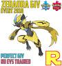6IV EVENT ZERAORA ⚔️ (+ITEM!) 🛡 for Pokemon SWORD & SHIELD ⚔️ Legit & Perfect