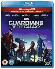 Guardians of The Galaxy 3d 2d Blu-ray UK BLURAY