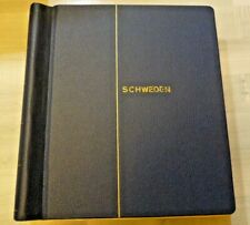 Sammlung Schweden 1855 bis 1972 Anfangs Gestempelt  Später Postfrisch **/*