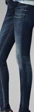 G-Star 3301 Jeg Skinny Dark Blue Jeans Women's UK Size 32W 34L *REF10-14*