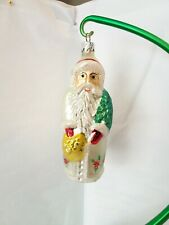 Christopher Radko Ornament Poinsettia Santa Early Radko