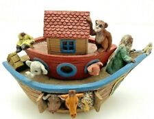 Sarah's Attic Noah's Ark Limited Edition Figurine Only 500 Made