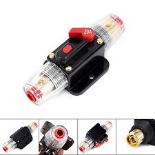 20-100AMP interruptor de circuito en línea de energía solar de Audio del Coche auto Portafusibles