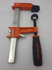 JORGENSEN 3706-HD Heavy Duty Steel Bar Clamp, USED