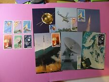 Stamps PRC China * SC 2020-25 National Space Ind * 6 Stamps & Maximum Cards MNH