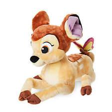 "NEW Walt Disney World Store BAMBI 13"" Plush Stuffed Animal Deer Toy NWT So Cute!"