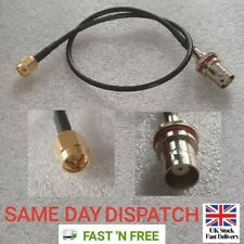 SMA Male To BNC Female Connector 30cm RG174 Adapter Antenna Signal Cable Lead