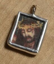Man of Sorrows—Jesus Christ—Christian Catholic Charm/Pendant—Hand-made jewelry
