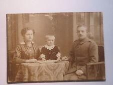 Nossen - Soldat mit Frau und Kind - Regiment Nr. 24 / KAB
