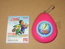 The Legends Of Zelda Sound Drops musical Keychain nintendo 2007 Rare (rose)
