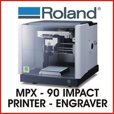 ROLAND ENGRAVER AND IMPACT PRINTER - Roland MPX-90  - PROTECH CNC
