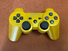 Sony Playstation 3 Wireless Gold Controller - Tested - Free UK Post.