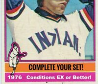 1976 Topps Baseball Cards | Cond. Range EX-NM! | Complete Your Set, You Pick!