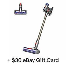 Dyson V7 Animal Cordless Vacuum | Nickel | New | with $30 eBay Gift Card