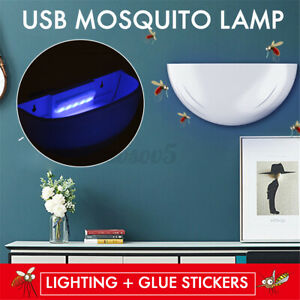 Electric Fly Bug Zapper Mosquito Insect Killer LED Light Trap Pest Control  *
