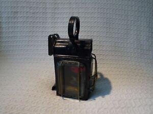 Antique Duntafil Patent Carriage Coach Railway Lamp Lantern Light