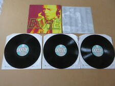 DAVID BOWIE Bowie The Singles Collection 3x LP 1993 PROMO UK 1ST PRESSING EM1512