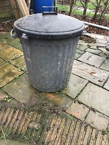 Waste Bin Dustbin Refuse Heavy Duty Garden Plastic