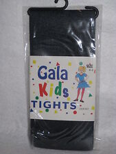 Gala Kid's Tights - Navy Blue - Size 4-6 - 100% Nylon  NEW in Sealed Package