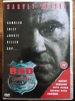 Malo Lieutenant DVD 1992 Original Corrupto Policía Película Clásica Con / Harvey