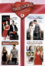 The Date Night 4: The Back Up Plan/Bounty Hunter/How Do You Know/Ugly Truth DVD