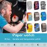Creative Paper Watch LED Waterproof Tyvek Paper Strap Digital Wrist Watches Nice