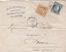 Lettre/Cover France n°55&60 Seurre (Cote D'or)